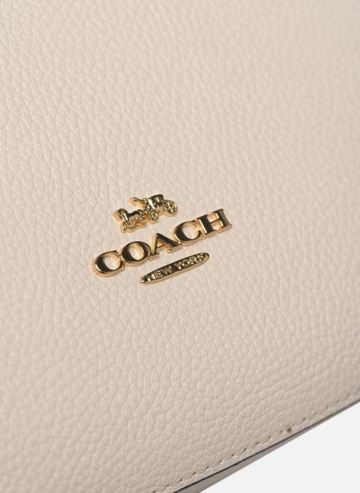 Sacs à main Coach Sutton Crossbody Blanc vue gauche