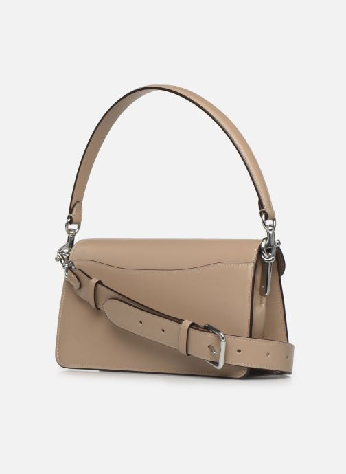 Sacs à main Coach Tabby Shoulder Bag 26 Beige vue droite