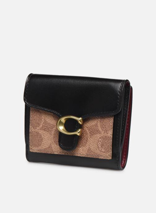 Petite Maroquinerie Coach Tabby Small Wallet Noir vue portées chaussures