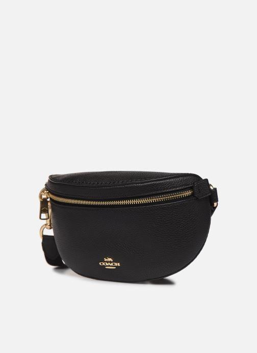 Petite Maroquinerie Coach Bethany Belt Bag Noir vue portées chaussures