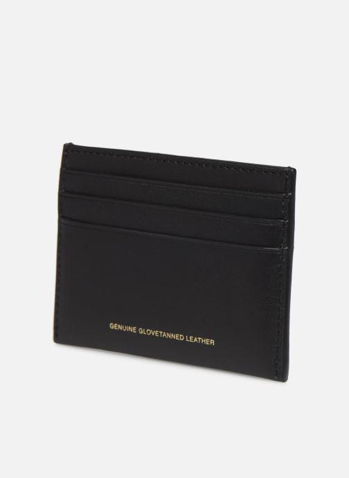 Portemonnaies & Clutches Coach Flat Card Case schwarz ansicht von rechts
