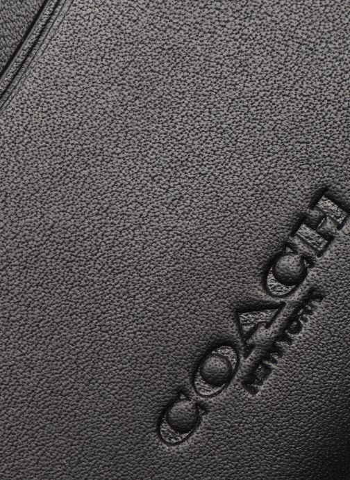 Portemonnaies & Clutches Coach Flat Card Case schwarz ansicht von links