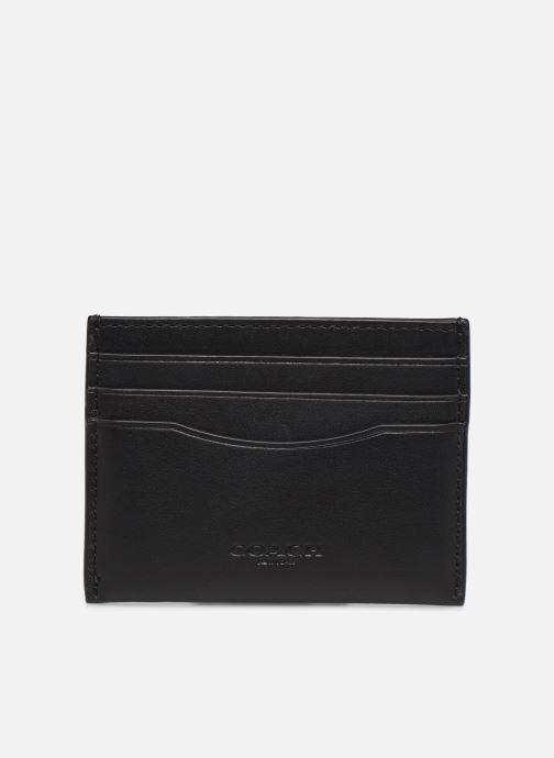 Portemonnaies & Clutches Coach Flat Card Case schwarz detaillierte ansicht/modell