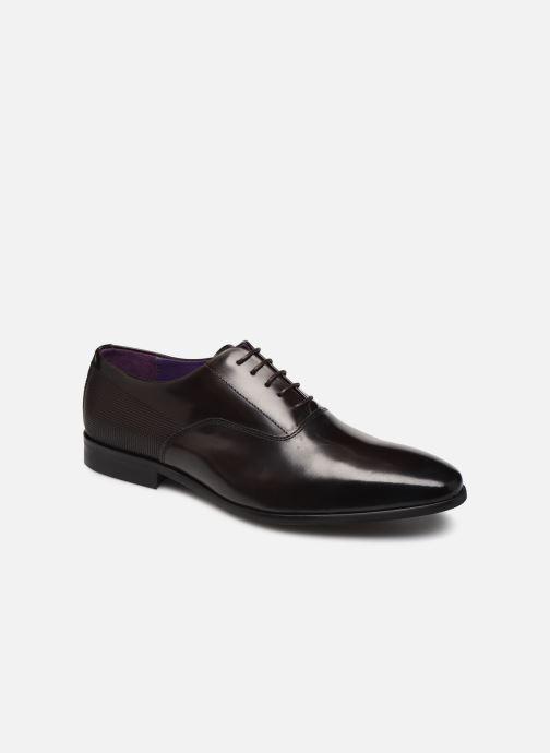 Snøresko Marvin&Co Moganor Brun detaljeret billede af skoene
