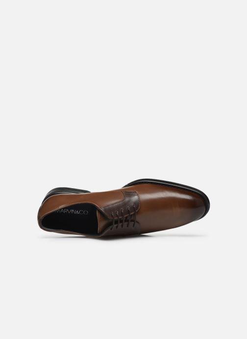 Chaussures à lacets Marvin&Co Matino Marron vue gauche