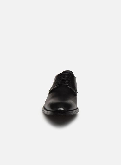 Schnürschuhe Marvin&Co Matino schwarz schuhe getragen