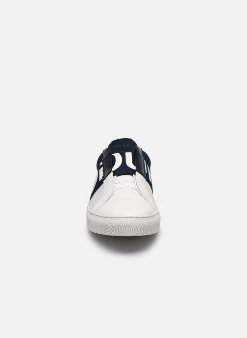 Baskets Hugo Futurism_Slon Blanc vue portées chaussures