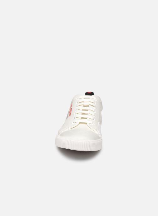 Baskets Hugo Zero_Tenn Blanc vue portées chaussures