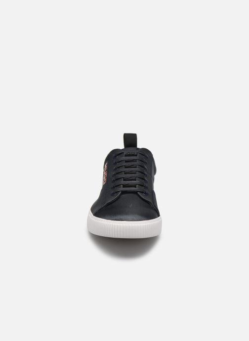 Baskets Hugo Zero_Tenn Bleu vue portées chaussures