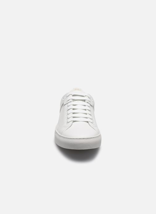 Baskets Hugo Futurism_Tenn Blanc vue portées chaussures