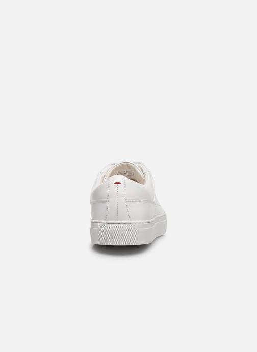 Baskets Hugo Futurism_Tenn Blanc vue droite