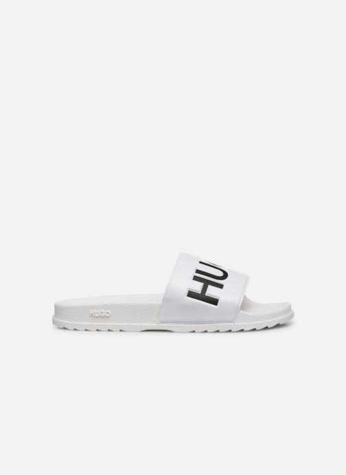 Sandales et nu-pieds Hugo Match_Slid Blanc vue derrière