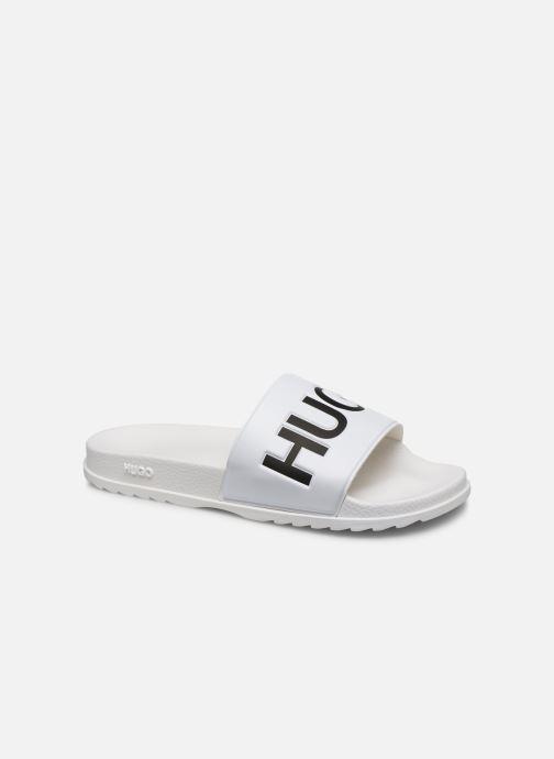 Sandales et nu-pieds Hugo Match_Slid Blanc vue détail/paire