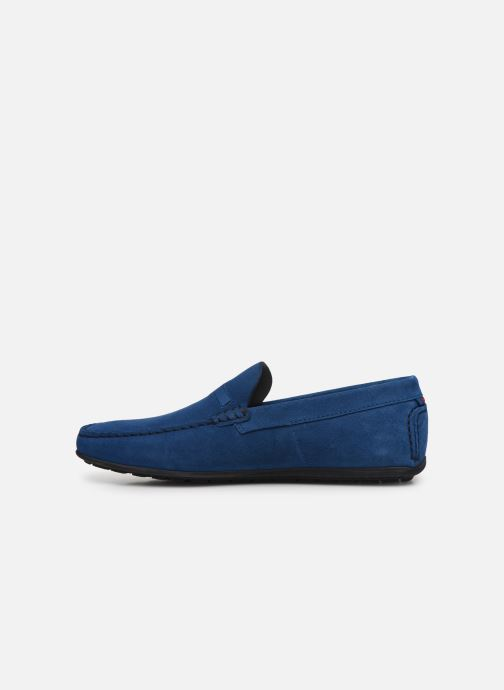 Mocassins Hugo Dandy_Mocc Bleu vue face