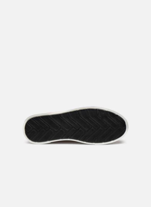 Sneaker OTH Graviere Cuir Recycle W beige ansicht von oben