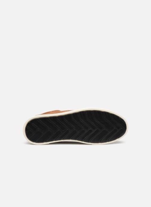 Sneaker OTH Graviere Cuir Recycle M braun ansicht von oben