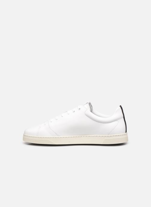 Sneaker OTH Graviere Cuir Recycle M weiß ansicht von vorne