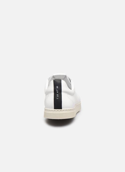 Sneaker OTH Graviere Cuir Recycle M weiß ansicht von rechts