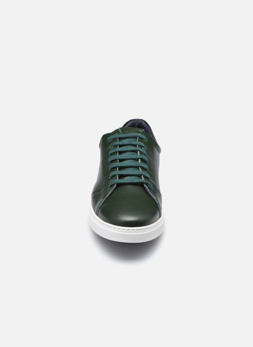 Baskets OTH Graviere Cuir Recycle M Vert vue portées chaussures
