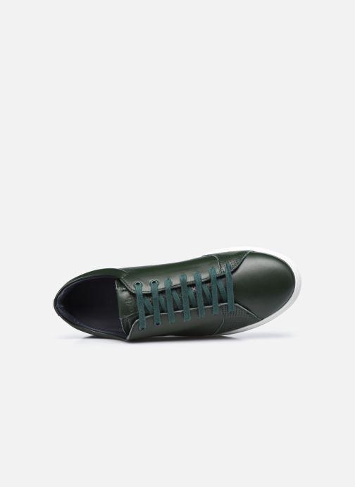 Sneaker OTH Graviere Cuir Recycle M grün ansicht von links