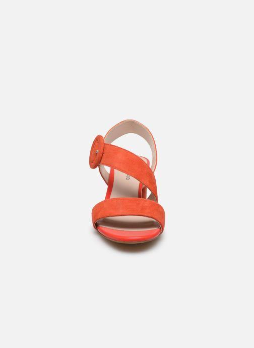 Sandales et nu-pieds Georgia Rose Lemca Orange vue portées chaussures