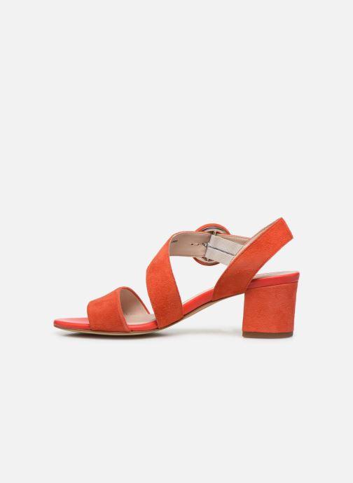 Sandales et nu-pieds Georgia Rose Lemca Orange vue face