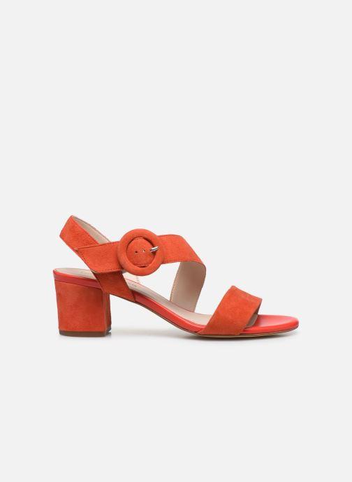 Sandales et nu-pieds Georgia Rose Lemca Orange vue derrière