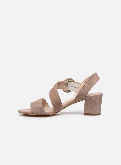 Sandales et nu-pieds Georgia Rose Lemca Beige vue face
