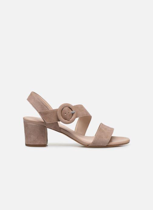 Sandales et nu-pieds Georgia Rose Lemca Beige vue derrière