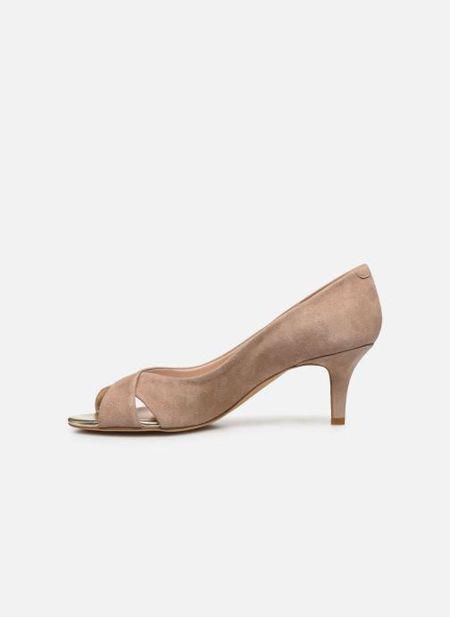 Zapatos de tacón Georgia Rose Lilouta Rosa vista de frente