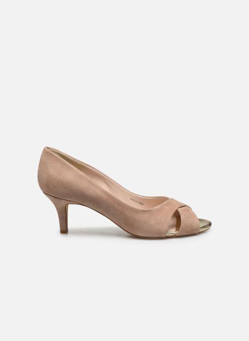 Zapatos de tacón Georgia Rose Lilouta Rosa vistra trasera