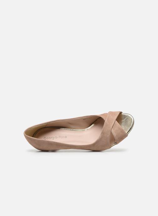 Zapatos de tacón Georgia Rose Lilouta Rosa vista lateral izquierda