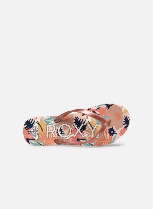 Tongs Roxy Tahiti VII Rose vue gauche