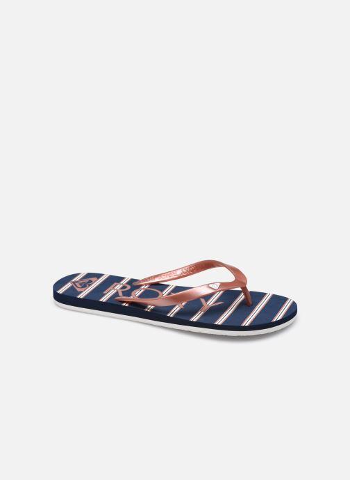 Slippers Roxy Tahiti VII Roze detail