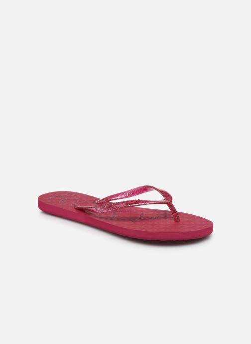 Slippers Roxy Viva Sparkle Roze detail