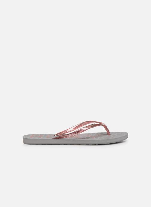 Slippers Roxy Viva Sparkle Roze achterkant