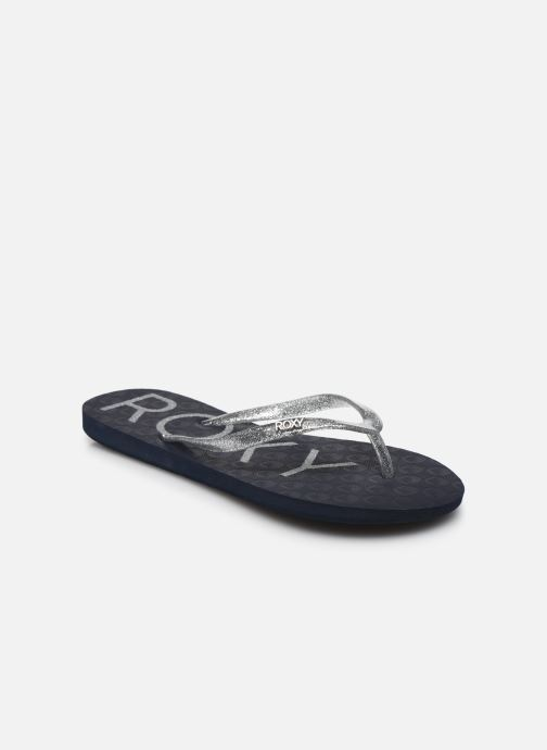 Slippers Roxy Viva Sparkle Zilver detail