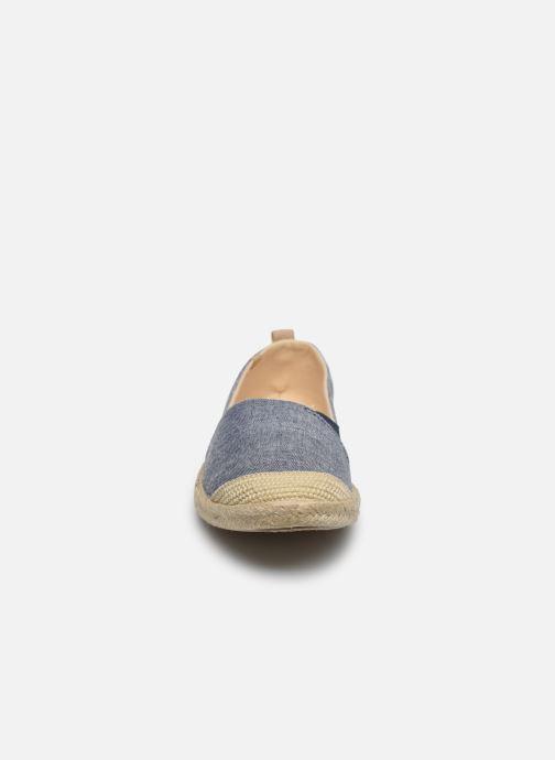 Espadrilles Roxy Flora Bleu vue portées chaussures