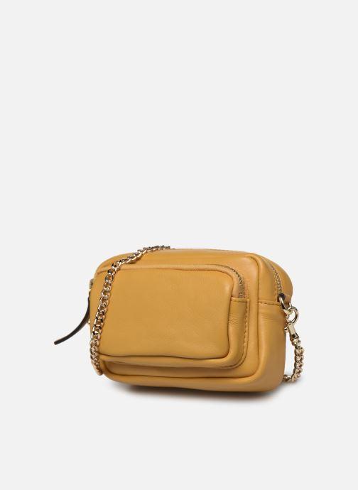 Handtaschen Neuville Ark gelb schuhe getragen