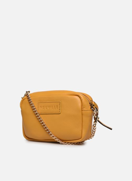 Handtaschen Neuville Ark gelb ansicht von rechts