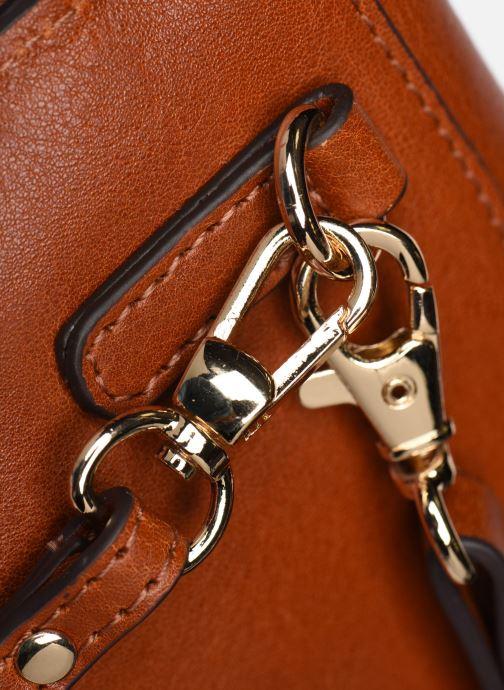 Handtaschen Neuville Big Party braun ansicht von links