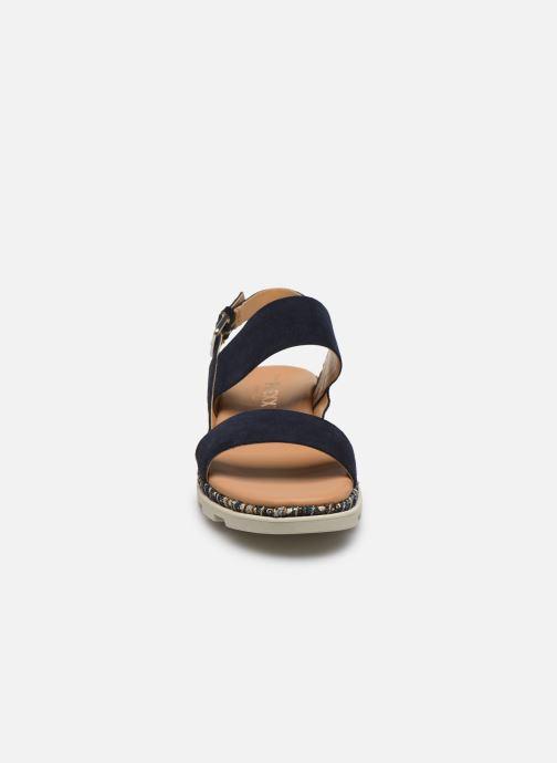 Sandales et nu-pieds The Flexx Mod Bleu vue portées chaussures