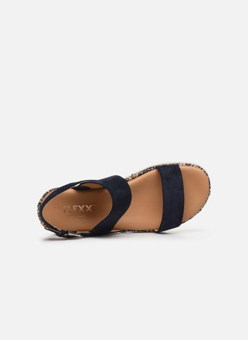 Sandales et nu-pieds The Flexx Mod Bleu vue gauche