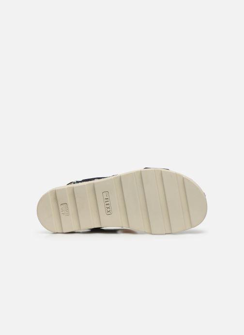 Sandales et nu-pieds The Flexx Mod Bleu vue haut