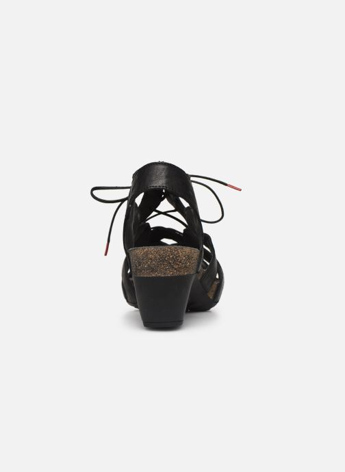 Sandalias Think! Traudi 86576 Negro vista lateral derecha