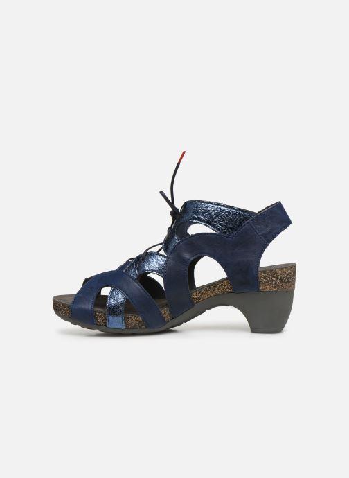 Sandales et nu-pieds Think! Traudi 86576 Bleu vue face