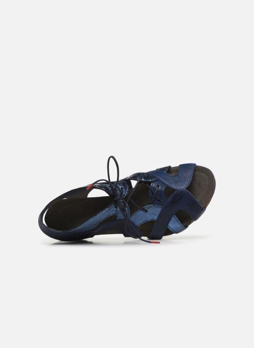 Sandales et nu-pieds Think! Traudi 86576 Bleu vue gauche