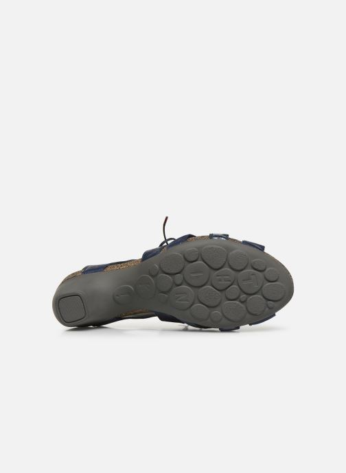 Sandales et nu-pieds Think! Traudi 86576 Bleu vue haut