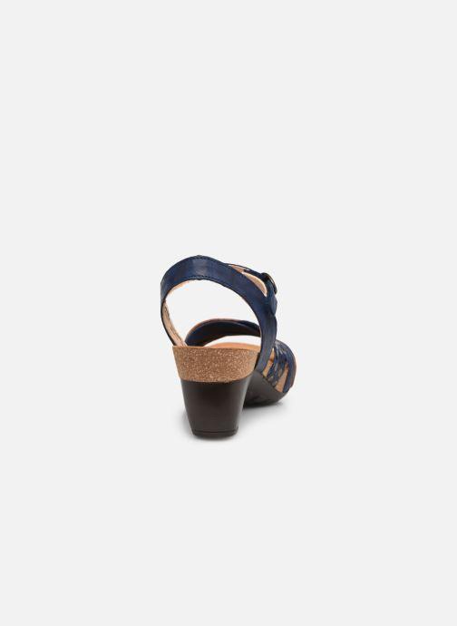Sandales et nu-pieds Think! Traudi 86578 Bleu vue droite
