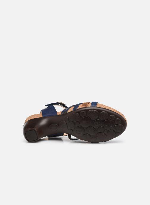 Sandales et nu-pieds Think! Traudi 86578 Bleu vue haut